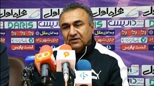 کنفرانس خبری سرمربیان مس کرمان - سپاهان پس از بازی