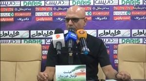 کنفرانس خبری سرمربیان استقلال خوزستان - نفت م سلیمان