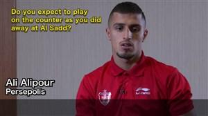 مصاحبه AFC با علی علیپور مهاجم پرسپولیس