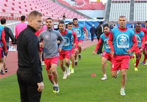 آخرین تمرین پرسپولیس پیش از فینال لیگ قهرمانان