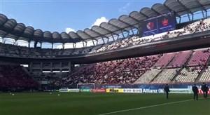 اولین نما از داخل ورزشگاه کاشیما ساکر