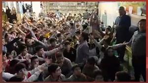 تماشای فینال لیگ قهرمانان آسیا در مدرسه ای در تهران