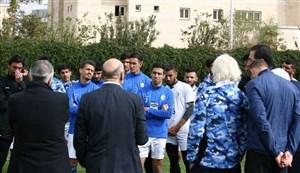 حضور نوروزی و فتحی در اردوی استقلال