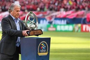 جام قهرمانی آسیایی به تهران رسید