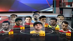 ترکییب منتخب هفته دهم لیگ برتر