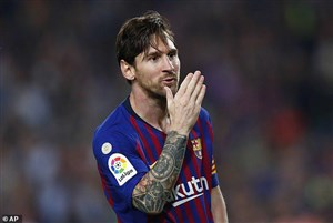 گل اول بارسلونا به بتیس (پنالتی - مسی)