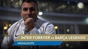 بازی دوستانه اسطوره های بارسلونا - اینتر جاودانه