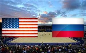 خلاصه فوتبال ساحلي روسيه 13 - آمريکا 3