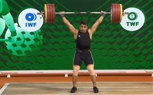 سه حرکت دو ضرب علی هاشمی در قهرمانی جهان