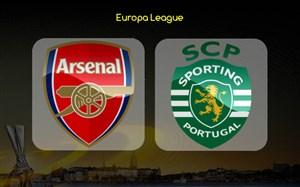 خلاصه بازی آرسنال 0 - اسپورتینگ 0