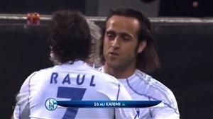 تبریک تولد 40 سالگی علی کریمی توسط باشگاه شالکه