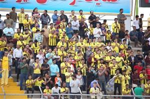 ورزشگاه جم، جهنم زرد غولهای لیگ برتر(عکس)
