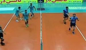 خلاصه والیبال شهرداری ورامین 3 - عقاب نهاجا 0