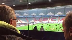 بازدید برانکو و سیدجلال حسینی از استادیوم آزادی پیش از فینال