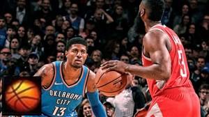 خلاصه بسکتبال هیوستون راکتس - اوکلاهاما سیتی تاندر