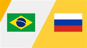 خلاصه فوتبال ساحلی برزیل 5 - روسیه 5 +پنالتی