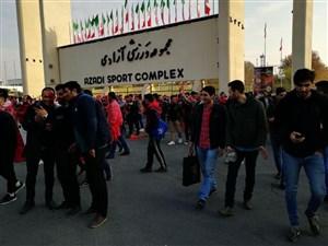 خرید و فروش کارت ملی بیرون ورزشگاه آزادی !