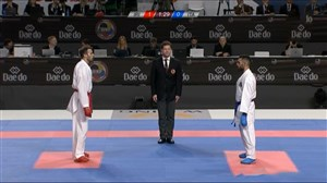 کسب مدال طلای بهمن عسگری در وزن 75- قهرمانی جهان