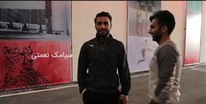 گفتگو با بازیکنان پرسپولیس و کاشیما پیش از فینال