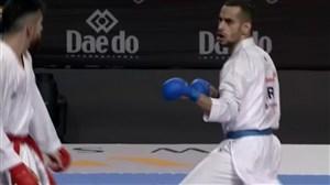 دیدار رده بندی کاراته قهرمانی جهان ; هامون درفشی پور