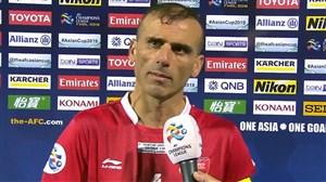 صحبت های سید جلال حسینی پس از بازی کاشیما