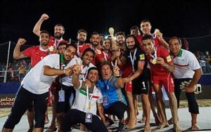 درخشش تیم فوتبال ساحلی ایران در رقابت های جهانی
