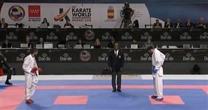 دو شکست تیم ملی کومیته کاراته در مسابقات جهانی