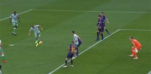گل دوم بتیس به بارسلونا (خوآکین)
