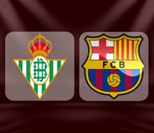 خلاصه بازی بارسلونا 3 - بتیس 4