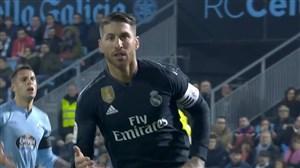 پنالتی چیپ راموس؛ گل سوم رئال مادرید به سلتاویگو