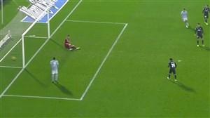 گل دوم سلتاویگو به رئال مادرید (مندز)