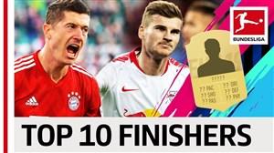 بهترین بازیکنان تمام کننده در بوندسلیگا 19-2018