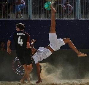 بازتاب قهرمانی ساحلی بازان ایران در سایت AFC