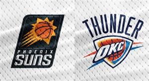 خلاصه بسکتبال اوکلاهاما سیتی تاندر - فینیکس سانز