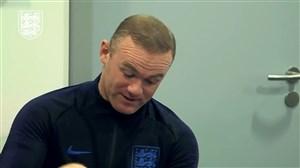 حواشی تمرین امروز تیم ملی انگلستان با حضور دوباره وین رونی