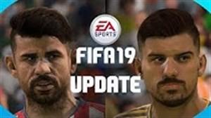 به روز شدن چهره بازیکنان در FIFA 19