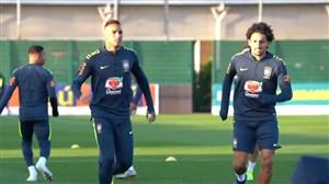 تمرین امروز تیم ملی برزیل (24-08-97)