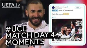مهم ترین لحظات هفته چهارم لیگ قهرمانان اروپا