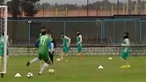 امکانات کم در تمرین تیم ملی امید و ناراحتی بازیکنان