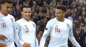 گل اول انگلیس به آمریکا با ضربه زیبای لینگارد