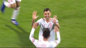 گل اول اسپانیا به کرواسی توسط سبایوس