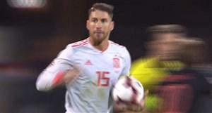 گل دوم اسپانیا به کرواسی (راموس-پنالتی)