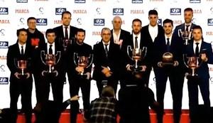مراسم بهترینهای فوتبال اسپانیا از نگاه مارکا
