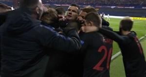 گل سوم کرواسی به اسپانیا (دبل تین یدوای)