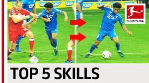 5 مهارت تکنیکی بازیکنان بوندسلیگا در ماه اکتبر 19-2018