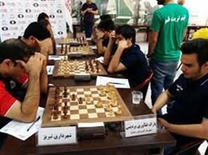 حواشی اولین هفته لیگ برتر شطرنج