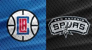 خلاصه بسکتبال سن آنتونیو 111- لس آنجلس کلیپرز 116