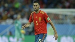 بوسکتس: اسپانیا بهترین تیم گروه بود