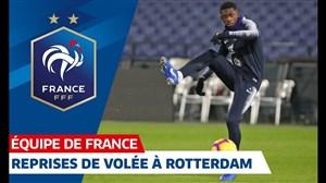 تمرین امروز تیم ملی فرانسه (25-08-97)