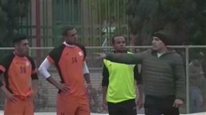 اولین تمرین تیم ذوب آهن با علیرضا منصوریان
